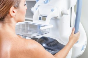 mobile mammographic senological unit