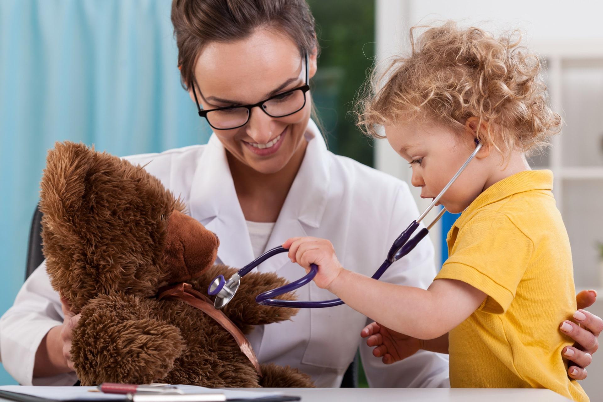 mobile paediatric clinics