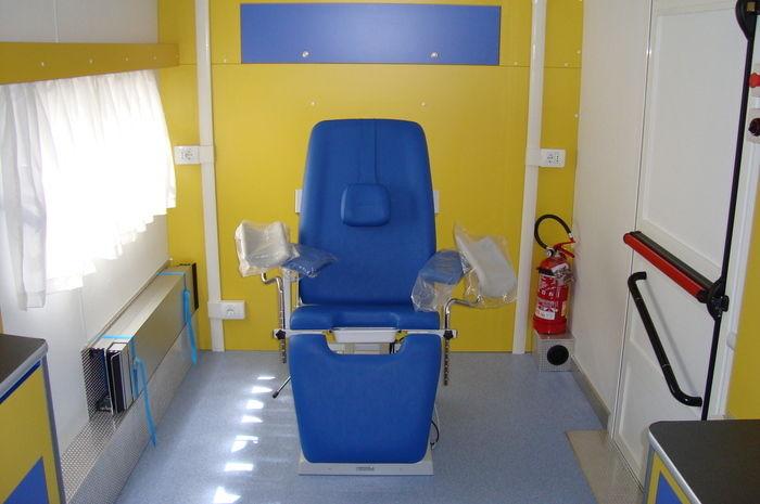 ambulatorio ginecologico mobile veicoli speciali medicali