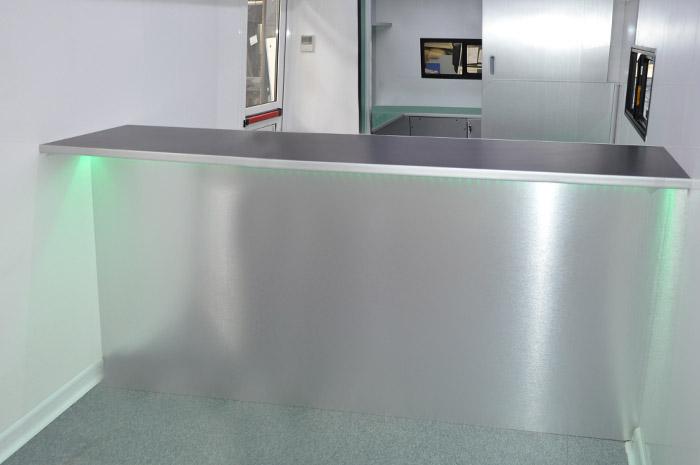 interno veicolo CVS uffici di comunicazione