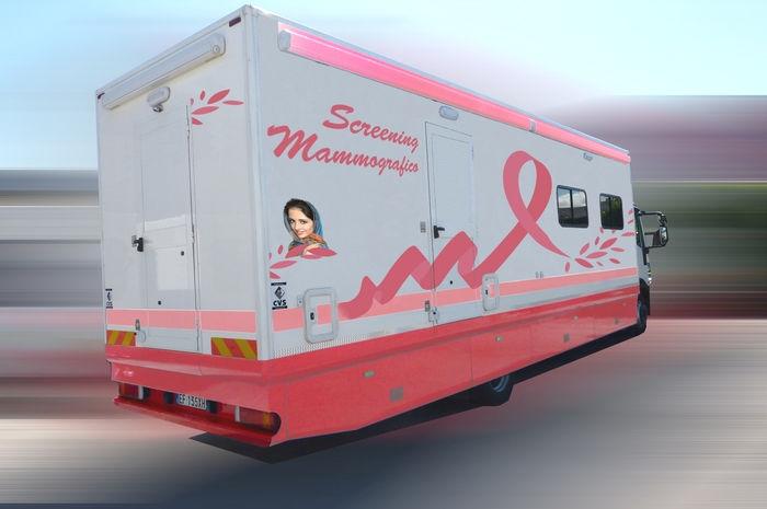 screening mammografico veicoli speciali medicali
