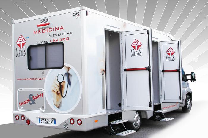 veicolo medicale speciale ambulatorio medicina del lavoro