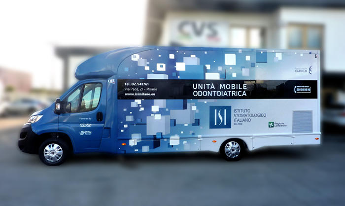 ambulatorio odontoiatrico mobile veicoli speciali medicali
