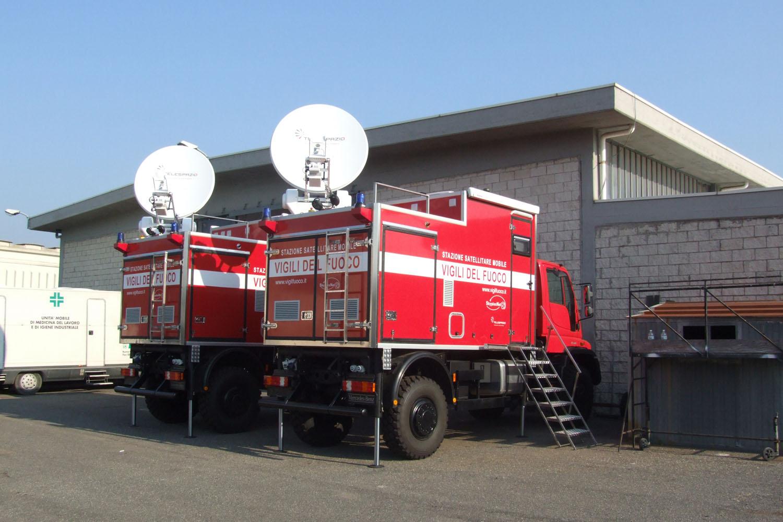 realizzazione veicolo attrezzato vigili del fuoco CVS
