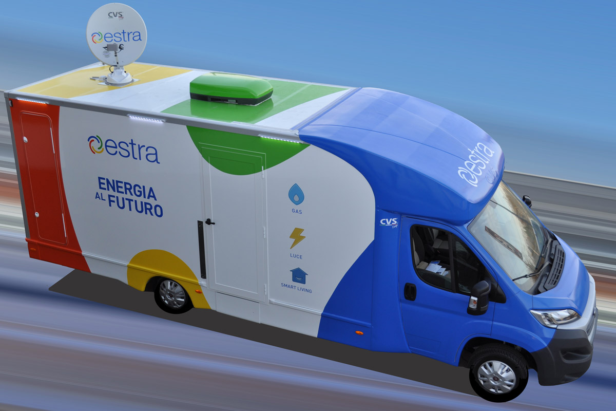 showroom mobile Estra