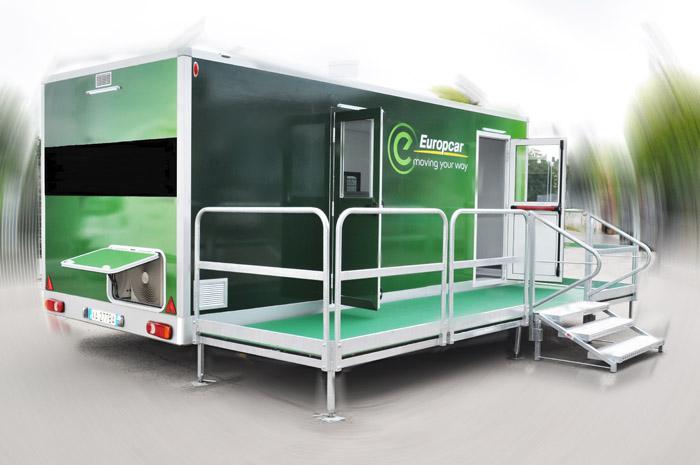 ufficio comunicazione itinerante Europcar CVS