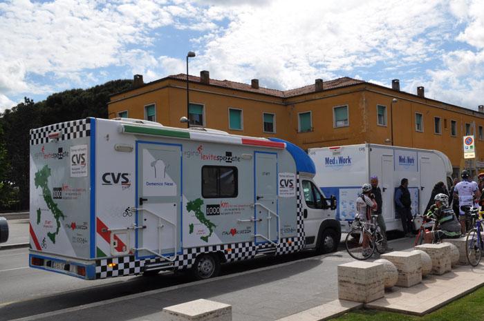 veicoli CVS uffici di comunicazione