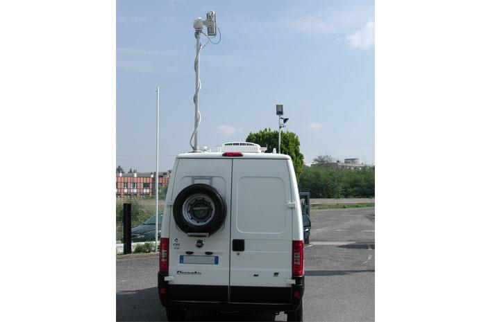 veicolo rilevazione aria CVS