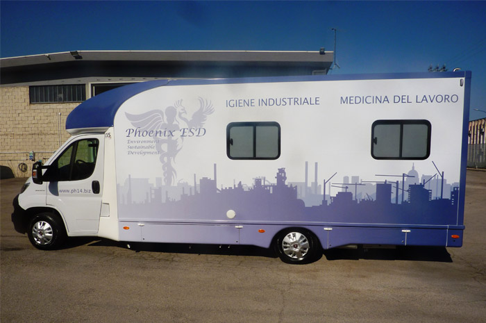 CVS veicolo medicina del lavoro Phoenix