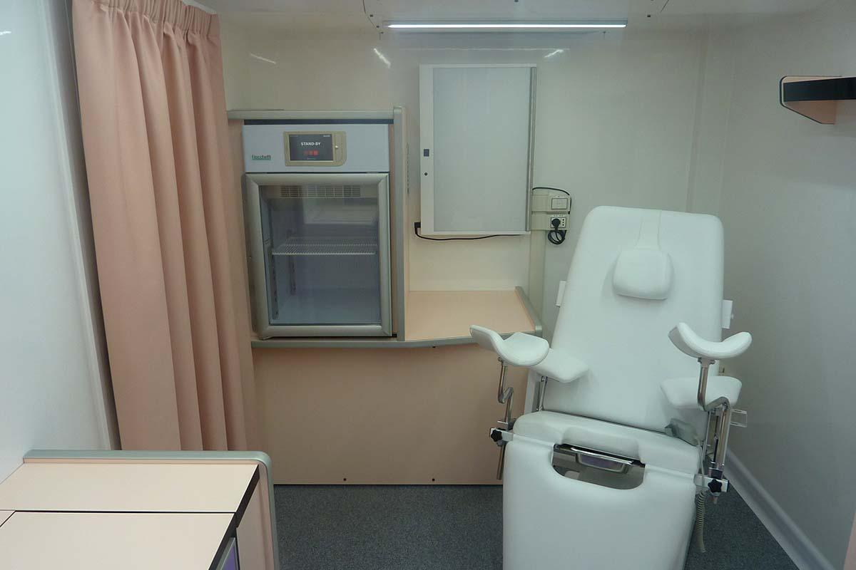 ambulatorio ginecologico vista interna 2