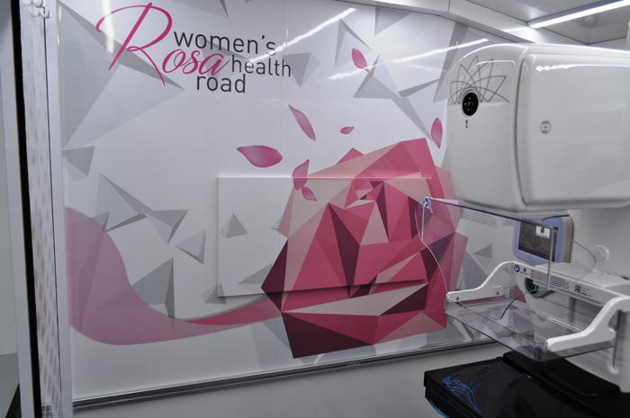 mammografo interno ambulatorio CVS