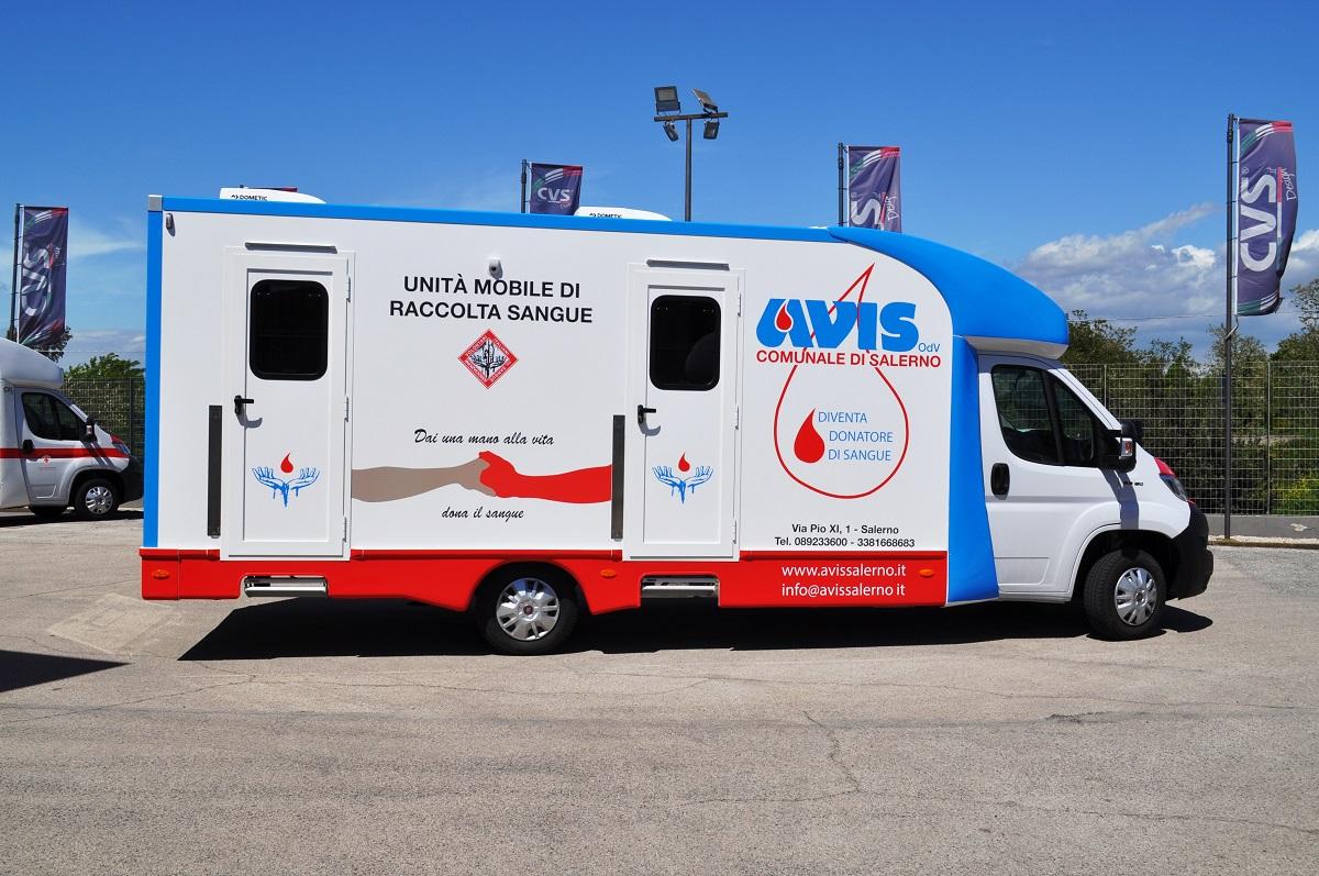 veicolo avis donazione del sangue