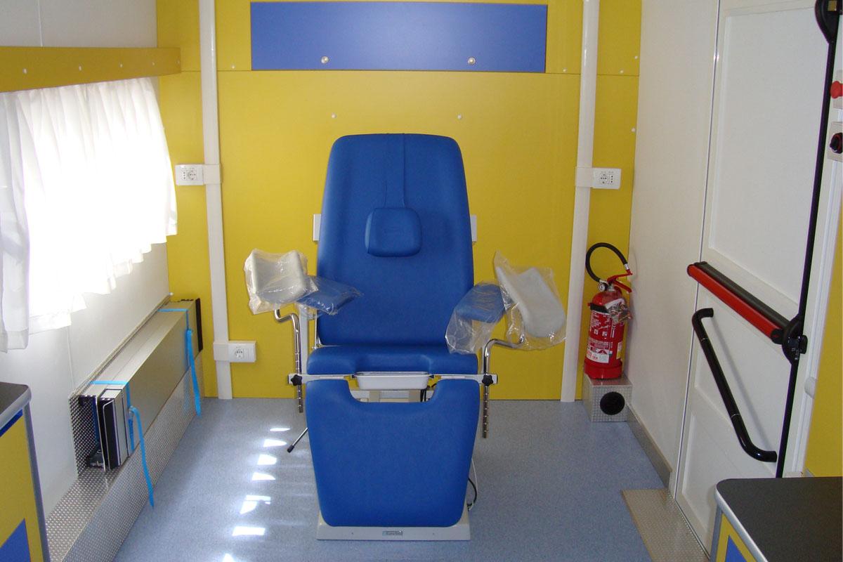 prevenzione ginecologica unità mobile